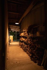 暖炉で使える薪を