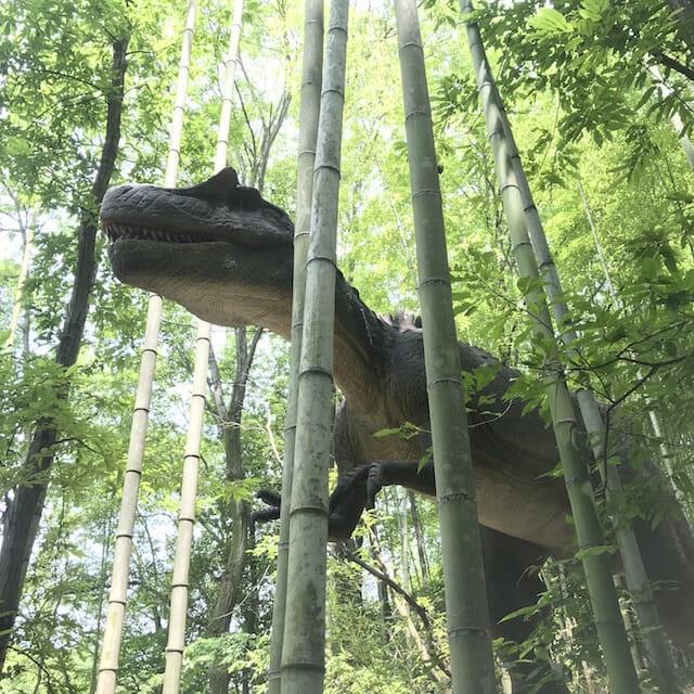 ジュラ紀へタイムスリップ!恐竜に会える宿